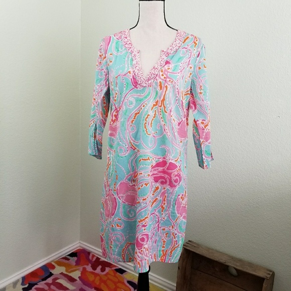 456c53a9451363 Lilly Pulitzer Dresses | Lilly Pulitizer Courtney Tunic Jellies Be ...